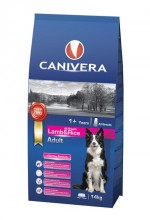 CANIVERA Adult lamb & rice all breeds 14kg + 3 kg + przysmak GRATIS!