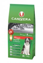 CANIVERA Mature & Senior all breeds 14kg + 3kg + przysmak GRATIS!