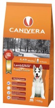 CANIVERA Puppy & junior lamb & rice all breeds 14kg + 3kg + przysmak GRATIS!