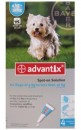 BAYER Advantix Spot-on 4sztuki 1ml od 4kg do 10kg m.c.
