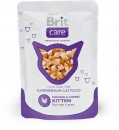 BRIT CARE CAT POUCH Chicken & Cheese Kitten 80g - kurczak dla kociąt