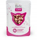 BRIT CARE CAT POUCH Chicken & Duck 80g