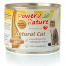 POWER OF NATURE Natural Cat Jagnięcina 200g