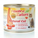 POWER OF NATURE Natural Cat Wołowina 200g